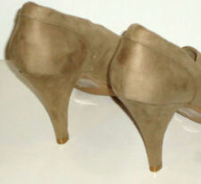 High (3 in. and Up) Suede Wear to Work Solid Heels for Women
