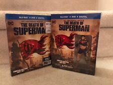 Death of Superman (Blu-ray/DVD/Digital, BestLIMITED EDITION SET w/ GRAPHIC NOVEL