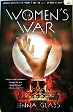 SIGNED NEW ARC The Women's War by Jenna Glass ADVANCE COPY YA AUTOGRAPH Book PB