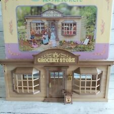 Sylvanian Families GROCERY SHOP Epoch Japan Retired Rare Calico Critters Box