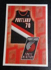 (60x) 2009-10 Panini NBA Stickers * PORTLAND TRAIL BLAZERS TEAM LOGO STICKER LOT