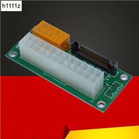 Desktop ATX 24PIN Dual PSU Power Mining Bitcoin for adapter Card Cable Extender
