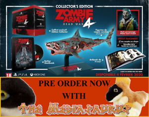 ZOMBIE ARMY 4 COLLECTORS EDITION  XBOX ONE / SERIES X Shark Statue Sniper Elite