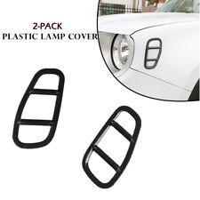 Auto Side Lamp Cover Styling Lampshade Frame Trims For Jeep Renegade Fashionable