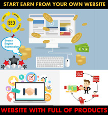 Website For Your Business or Earn From Website - Website With Full of Products