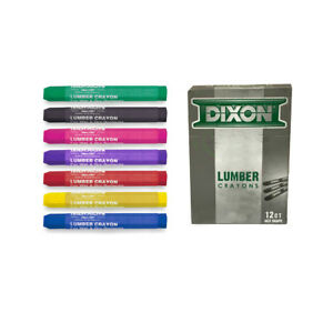 Dixon Lumber Crayons in One (1) Dozen Box with Color Choice