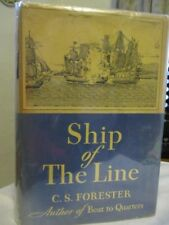 "C.S.FORESTER ""Ship of The Line"" Hardcover with Mylar Cover 1st Edition 1938"