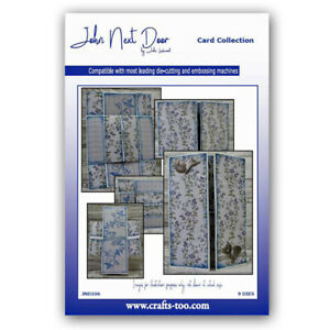 JOHN NEXT DOOR by JOHN LOCKWOOD - NEVER ENDING CARD DIE SET (9PCS) FREE UK P&P