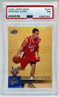 Stephen Curry Rookie 2009 Upper Deck #234
