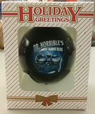 Dr. Horrible's Ornament Sing along Blog Neil Patrick Harris Movie NEW Christmas