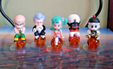 Dragon Ball Figures Set of 5 Bandai Tenshinhan Kame Sennin Mr. Popo Bulma Chaozu