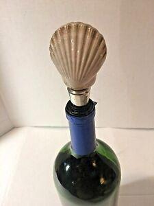 Seashell Wine Bottle Stopper