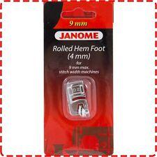 Janome 4mm Rolled Hem Foot (9mm) - Skyline MC8200 MC8900 MC9900 MC12000 MC15000