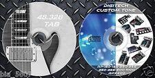 4.631 Patches DIGITECH. RP150-155-250-255-350-355-500-1000-x400 & 48.328 Guitar