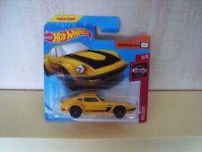 Hot Wheels Datsun 240/260/280 Z Nissan Fairlady Z  Yellow & Black  MINT ON CARD