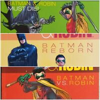 Batman & Robin Volume 1, 2, & 3 TPB's by Grant Morrison!