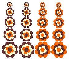Blumen Adesivo Pril fiore Prilblumen Fiori retro 20 Pezzi Set Adesivi per auto