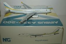 NG Model 61003 Airbus A330-243 Government of Kazakhstan UP-A3001  in 1:400 Scale