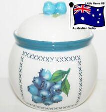 YANKEE CANDLE Tealight HOLDER CERAMIC ~ BLUEBERRY JAR ~