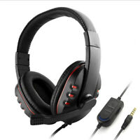 3.5mm Gaming Headset K2 LED 7.1 Headphones For PC Laptop PS4 Slim Pro Xbox One