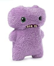 """Fuggler Gaptooth McGoo - Lilac 9"""" Plush Funny Ugly Monster Toy - New in Box"""