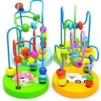 Wooden Bead Maze Game Toys for Baby Kids Development Intelligence Trendy