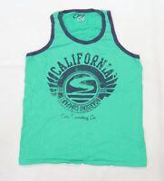 Easy Mens Green  Jersey  T-Shirt Size XL  - California