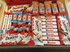 LARGE KINDER CHOCOLATE BUENO HIPPO HAMPER BOX GIFT FATHERS DAY BIRTHDAY KIDS