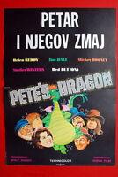 PETE'S DRAGON WALT DISNEY 1977 RARE EXYU MOVIE POSTER