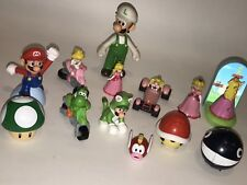 SUPER MARIO BROS Mixed Toy Random LOT Princess Peach Luigi Yoshi Figures Kart