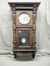 Antique Schlenker Uhren Kienzle Wall Hanging Pendulum Clock Fully Restored