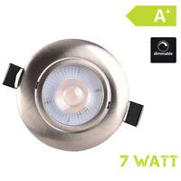 LED Einbauleuchte Einbaustrahler 230V 7W dimmbar Schwenkbar