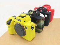 Soft Silicone Rubber Camera Bag Case Skin For SONY A7RIII A7 Mark 3 A7R3 A7III