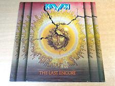 EX-/EX !! Kayak/The Last Encore/1976 Vertigo LP + Insert
