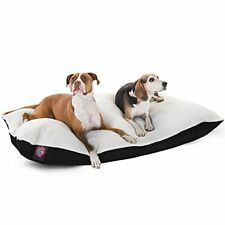 42x60 Black Rectangle Pet Dog Bed By Majestic Pet Products Extra Large