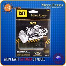 Fascinations Metal Earth Caterpillar Dozer 3D Laser Cut Mining Vehicle Model