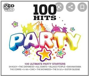 Various - 100 Hits: Party Karaoke 5 cd+g new unsealed