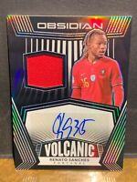 RENATO SANCHES #126/149 SSP PATCH AUTO 2020-21 OBSIDIAN SOCCER *PACK FRESH*