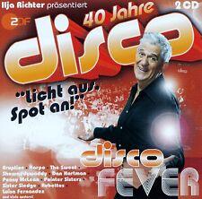 40 JAHRE DISCO - DISCO FEVER / 2 CD-SET - TOP-ZUSTAND