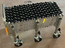 Flexible expanding accordion conveyor