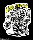 "FORD ""SYNDICATE"" Sticker Decal RAT FINK Car Surfboard PANEL VAN UTE TRUCK"