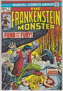 FRANKENSTEIN MONSTER#7 FN/VF 1973 MARVEL BRONZE AGE COMICS