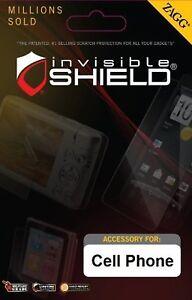 Zagg Invisible Shield for Samsung Galaxy Rush  (IL/PL1-2132-SVSAMGARUSHS-NOB)