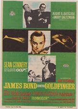 Goldfinger - James Bond 007 orig Herald Sean Connery Blackman Frobe 1964 rare