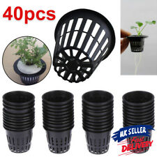 More details for 40pcs hydroponics plant grow net cup mesh pot basket aeroponic aquaponic mesh
