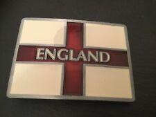 ENGLAND Flag New BELT BUCKLE Metal English Red & White Cross Flag