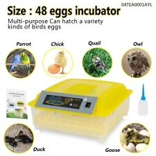 New listing 48 x single power incubator breeding brood warmers with auto temperature control