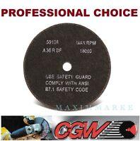 """3"""" x 1/16"""" x 3/8"""" A-36RBF, Box of 50,  Fast Cut, General Purpose Cutoff  Wheels"""
