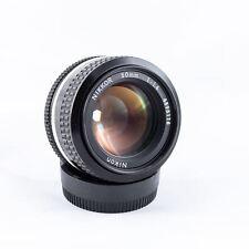 Objectif Nikon Nikkor 50mm f/1.4 AI