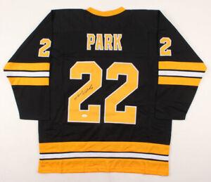 Brad Park Signed Boston Bruins Jersey (JSA COA) 2nd Overall Pick 1966 NHL Draft